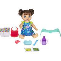 Boneca Baby Alive - Bebê Comidinha Feliz - Morena - E4895 - Hasbro