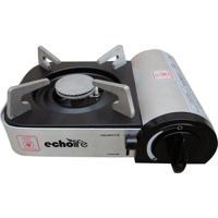 Fogareiro Alu Compact Com Ignição Eletrônica E Acendedor Automático - Echolife Cinza