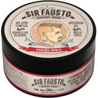 Pomada Opaca Para Cabelo Sir Fausto 200G - Unissex-Incolor