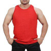 Camiseta Regata Academia Masculino Vermelho