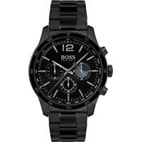 9d5cd4573d3 Relógio Hugo Boss Masculino Aço Preto - 1513528