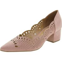 Sapato Feminino Salto Baixo Vizzano - 1220227 Rosa 35