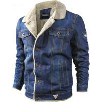 Jaqueta Masculina Jeans - Azul Claro