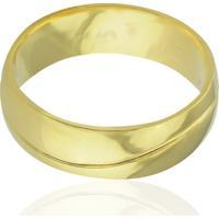 Aliança Casamento Tradicional Em Ouro 18K Madrid - Masculino - Masculino