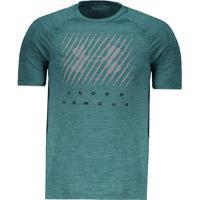 Camiseta Under Armour Graphic Verde Mescla