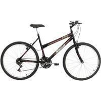 Bicicleta Aro 26 Status Belíssima 18 Marchas - Unissex