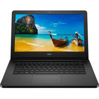 "Notebook Dell I14-5458-D08P - Preto - Intel Core I3-5005U - Ram 4Gb - Hd 1Tb - Tela 14"" - Linux"