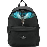 Marcelo Burlon County Of Milan Kids Wings Print Backpack - Preto