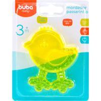 Mordedor Para Bebê Buba Gelado Com Água Passarinho Amarelo
