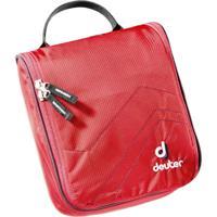 Necessaire Para Viagem Wash Center I Vermelha Leve E Compacta - Deuter 707040