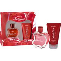 Kit Fiorucci Tentation Deo Colonia 80Ml + Hidratante 150Ml