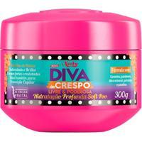Creme De Tratamento Niely - Hidratação Profunda Diva De Crespo Soft Poo 300G - Unissex-Incolor