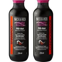 Kit Shampoo + Condicionador Nick & Vick Pro-Hair S.O.S. Fios Kit - Unissex-Incolor