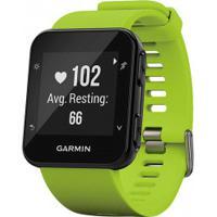 Monitor Cardíaco Com Gps Garmin Forerunner 35 - Verde Claro/Preto
