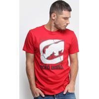 Camiseta Ecko Big Box Masculina - Masculino-Vermelho