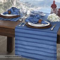 Jogo Americano Amalfi - Azul & Azul Escuro - 2Pçssultan