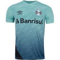 Camisa De Treino Do Grêmio 2020 Umbro - Masculina - Azul/Preto