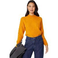 Suéter Canelado Tranças