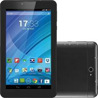 Tablet Preto M7 3G Quad Core Câmera Wi-Fi Tela Hd 7' Memória 8Gb Dual Chip Multilaser