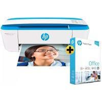 Impressora Multifuncional Hp Deskjet Ink Advantage 3776 + Papel Sulfite Hp Office A4