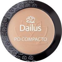 Pó Compacto Dailus Color - New 06 - Bege Médio - Unissex-Incolor