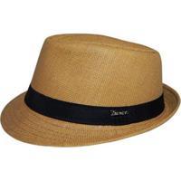 Chapéu Panamá Alma De Praia - Masculino-Caramelo