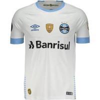 Camisa Umbro Grêmio Ii 2018 N° 10 Libertadores Jogador Masculina - Masculino