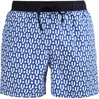 Short Tommy Hilfiger Masculino Swimwear Trunk Pattern Azul