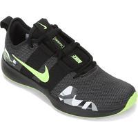 Tênis Nike Varsity Compete Tr 2 Masculino - Masculino-Preto+Verde
