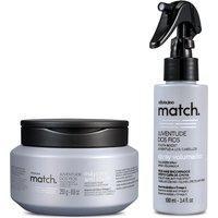 Combo Match Juventude Dos Fios: Máscara Anti-Idade 250G + Spray Volumador 100Ml