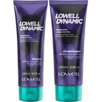 Kit Shampoo + Condicionador Lowell Dynamic - Unissex-Incolor