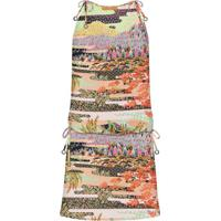 Vestido Com Alça Estampado Vale - Lez A Lez