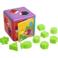 Cubo De Encaixes Com Acessórios - Unissex-Incolor
