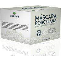 Máscara Facial De Procelana Efeito Clareador Avenca 10G (Caixa Com 50 Unidades)