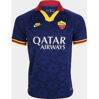 Camisa Roma Third 19/20 S/Nº Torcedor Nike Masculina - Masculino
