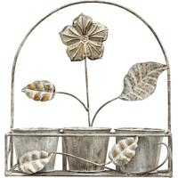 Floreira Decorativa - Cinza - 44,5X41X14,5Cmbtc Decor