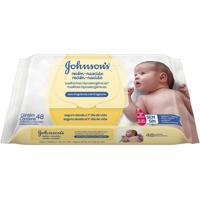 Lenços Umedecidos Johnson'S Baby Recém-Nascido Sem Fragrância Johnson E Johnson 48 Toalhas