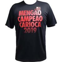 Camisa Flamengo Campeão Carioca 2019 Braziline Masculina - Masculino
