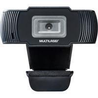 Webcam Office Hd 720P Usb Preta Multilaser