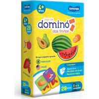 Dominó Toyster Frutas Aprende Em Português E Inglês