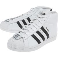 caccefbae4 Tênis Adidas Originals Promodel Nigo Bearfoot Branco