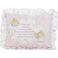 Travesseiro Infantil Para Bebê Rosa