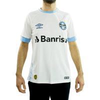 ebc96ff8da6e6 Netshoes  Camisa Oficial Masculina Umbro Grêmio 2018 Fan - Masculino