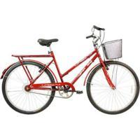 Bicicleta Mega Bike Valência Free Aro 26 Freio V-Break Quadro Aço - Unissex
