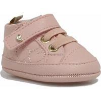 Tênis Pampili Infantil Velcro - Feminino-Rosa