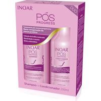 Kit Inoar Duo Pós Progress Shampoo 250Ml + Condicionador 250Ml - Feminino-Incolor