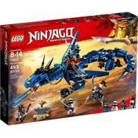 Lego Ninjago - Masters Of Spinjitsu - Dragão Da Tempestade - 70652