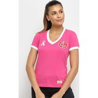 Camisa Internacional Outubro Rosa Retrô Mania Feminina - Feminino