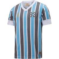 Camisa Retrô Gol Grêmio Réplica 83 Libertadores Masculina - Masculino