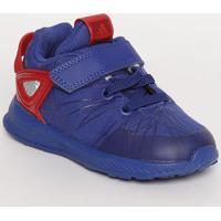 8a8ce7172d Tênis Spider Man® Rapidarun I - Azul Escuro   Vermelho